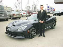 Brendan Morris says the 2015 Viper appeals to a special kind of driver.