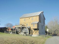 Just north of Lexington, Virginia, Wade's Mill is a working water-powered flour mill that was built in 1750.