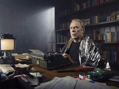 Actor Michael McKean as Chuck Thurber is shown in a scene from the television show