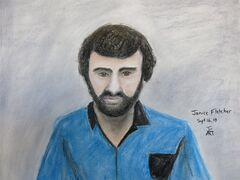 Courtroom sketch of Nicolino Camardi on Tuesday, Sept. 16, 2014. Camardi is charged with two counts of animal abuse related to the horrific deaths of a dog and a cat earlier this year. He was denied bail. THE CANADIAN PRESS/Janice Fletcher