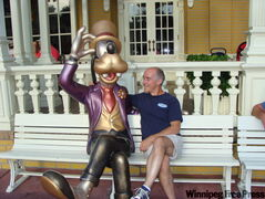 Neil Dempsey gets to know one of Disney World's leading citizens.