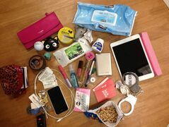 For many women, a purse is a well-stocked necessity for daily life as well as emergencies.