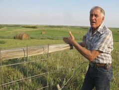 Park ranger and  rancher John Heiser, who raises cattle near Grassy Butte and works in Theodore Roosevelt National Park's North Unit, is fed up with the truck traffic and environmental degradation of what he calls 'the Bakken curse.'