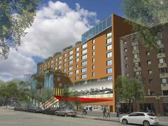 The Gas Station Theatre would be part of a redevelopment that would include affordable housing units.