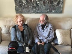 Wilma Derksen (left, with husband Cliff Derksen) says she was