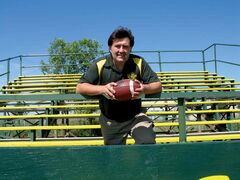 North Winnipeg Nomads major football team coach Dennis Radlinsky.