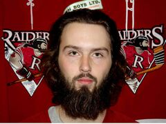 Raiders goalie Brenden Fiebelkorn sports an MMJHL best two shutouts.