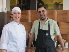 Chef Virginia Jensen and owner Justin Ludwar recently opened Beet Happening in the West End.