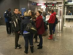 Media and spectators line up to enter the courtroom in Montreal for the preliminary hearing for Luka Rocco Magnotta, on Wednesday, March 13, 2013. Magnotta is charged in connection with the infamous body-parts case that made international headlines. THE CANADIAN PRESS/Ryan Remiorz