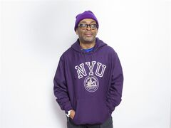 """In this Jan. 25, 2015 photo, writer-director Spike Lee poses for a portrait to promote the film, """"Da Sweet Blood of Jesus"""", at the Eddie Bauer Adventure House during the Sundance Film Festival in Park City, Utah. (Photo by Victoria Will/Invision/AP)"""