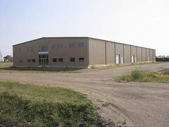 Public funds were used to build a 25,000-square-foot plant in Waskada that stands empty and has never been used.