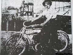 Do you know this woman's name? The photo above is from the June 17, 1911, edition of the Free Press. We noted that she was Winnipeg's first female motorcyclist, but failed to publish her name.