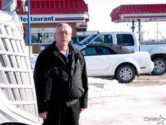 Manager of Headingley Husky Travel Centre Paul Marciniw says hundreds of stranded semi-trucks filled his parking lot and those of other service stations along Highway 1 on Nov. 10 and 11.