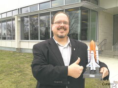 Science teacher Jeff Cieszecki, winner of the 2012 Prime Minister's Award for Teaching Excellence.