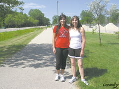 Kathy and Alejandra Cano will be running in support of Winnipeg Harvest in the Fort Garry Rotary Club's Run for a Hunger Free Manitoba.