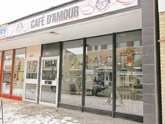 Cafe D'Amour's Althea Howard and Sharla Lehmann are truly appreciative of the support of their neighbourhood clientele.