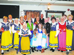 National and regional costumes from Scandinavia were paraded at the Scandinavian Cultural Centre on April 19.