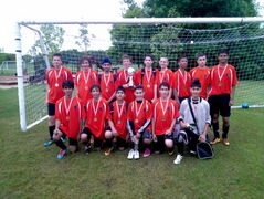 The Maples Monarchs U15 boys team went home as winners after an undefeated 5-0 romp at the 2013 Slurpee Cup Championships in late June. Missing from team photo: Cole Anderson and Joshua Crisostomo.