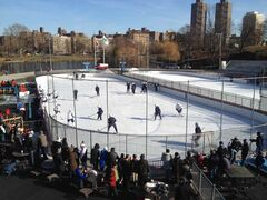 The Winnipeg Jets practise at Central Park Saturday.