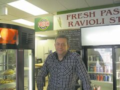 Jan. 15, 2015 - Vlado Ngezic of Pizza 21st Century is excited be back in East Kildonan at their new location in the Munroe Shopping Centre, Munroe Ave & London St. (SHELDON BIRNIE/CANSTAR COMMUNITY NEWS/HERALD)