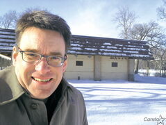 Coun. Brian Mayes (St. Vital) is happy that renovations to the duck pond area at St. Vital Park will begin this year.