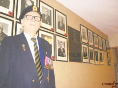 Stefan Olbrecht, president of Royal Canadian Legion Andrew Mynarski VC Branch 34. The branch, which Olbrecht has been a member of since the 1950s, will be shutting down for good at the end of this year after years of declining membership.