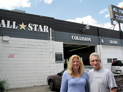 Tara Spelmer-Mack and Dave Mack, owners of All Star Collision & Glass in the West End, say that the area has a bad reputation that isn't justified.