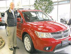 Dennis Mierke with Dodge Journey