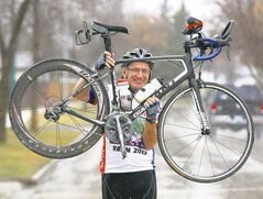 North Kildonan's Arvid Loewen, 56, plans to bike from coast to coast in the U.S. this June in the Race Across America. He won in his category the first time he did it.