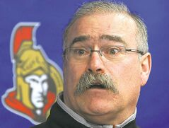 Ottawa Senators coach Paul MacLean had to deal with key injuries.