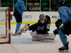 The Jets have reassigned goalie Eric Comrie to the St. John's IceCaps.