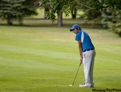 Skelton shot an even-par 70 on Portage Golf Club to score a two-shot victory over Glenboro's Josh Wytinck.