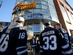 More than 96 per cent of eligible Winnipeg Jets season-ticket holders have renewed their tickets.