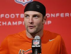 Denver Broncos wide receiver Wes Welker (83) speaks at a news conference at the NFL Denver Broncos football training facility in Englewood, Colo., Wednesday, Jan. 15, 2014. The Broncos are scheduled to play the New England Patriots on Sunday for the AFC Championship. (AP Photo/Ed Andrieski)