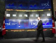 TMX Broadcast Centre is pictured in Toronto on May 16, 2011. THE CANADIAN PRESS/Frank Gunn