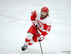 Jenelle Kohanchuk is hoping to win a Frozen Four with the Boston University Terriers — and to earn a spot on Canada's national team.