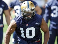 The Blue Bombers are expecting third-year middle linebacker Henoc Muamba to have a bust-out season in 2013.