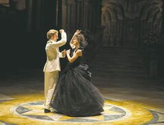 Knightley and Taylor-Johnson in their scandalous dance.