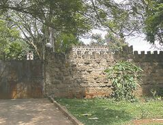 The Department of Refugee Affairs headquarters in Nairobi is at Castle Lavington -- an actual castle built in colonial times.