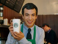 Canadian comedian Nathan Fielder of the Comedy Central show