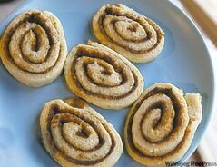 Cinnamon Rolls are a cookie version of a baking favourite.