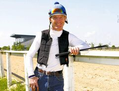 Paul Nolan, last year's leading jockey at Assiniboia Downs, has a two-victory lead over Jennifer Reid atop the current  standings.