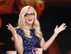 This image released by ABC shows co-host Jenny McCarthy during a broadcast of