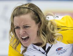 Manitoba skip Chelsea Carey and her mates defeated B.C. to move to 2-1.