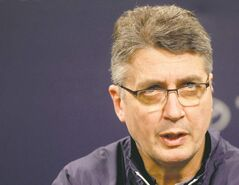 Winnipeg Jets head coach Claude Noel.