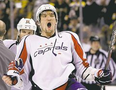 Washington�s Alex Ovechkin will be celebrating many more goals now that Adam Oates is the new Caps� bench boss, predicts the Golden Brett. Once they start playing, that is.