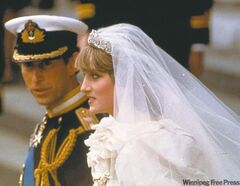 July 29, 1981: Princess Diana and Prince Charles are seen on their wedding day in London.