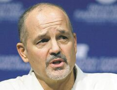 Indianapolis Colts head coach Chuck Pagano returns to the team after undergoing successful leukemia treatment.