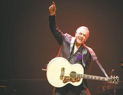 American singer-songwriter Neil Diamond.