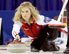 Team Canada skip Jennifer Joneshas momentum on her side heading into today's much-anticipated matchup against Manitoba skip Cathy Overton-Clapham, at the 2011 Scotties Tournament of Hearts in Charlottetown, P.E.I.